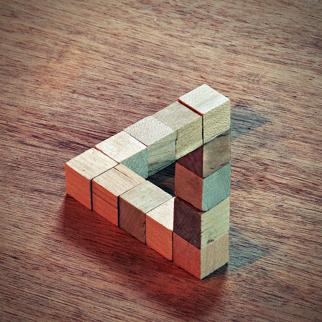 Penrose Triangle by Wes Peck
